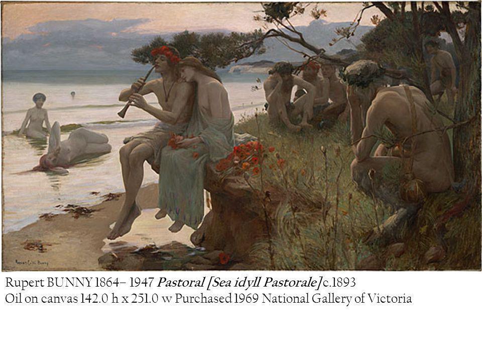 Rupert BUNNY 1864– 1947 Pastoral [Sea idyll Pastorale] c